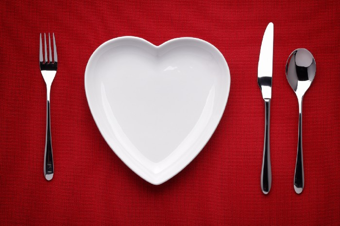Valentine's Dinner — How to Fill a Plate